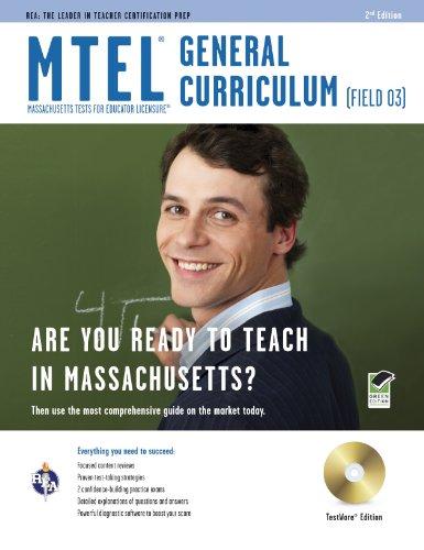 Massachusetts MTEL General Curriculum (Field 03) w/CD-ROM (MTEL Teacher Certification Test Prep)