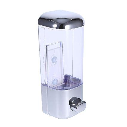 Acogedor Dispensador de Jabón de Pared, loción de jabón de Ducha Gel Champú Acondicionador de