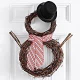 Christmas Sparrow Wreath - eshopclub Same Day Christmas Decoration Delivery - Online Christmas Decoration - Christmas Flowers Decoration - Send Christmas Decoration