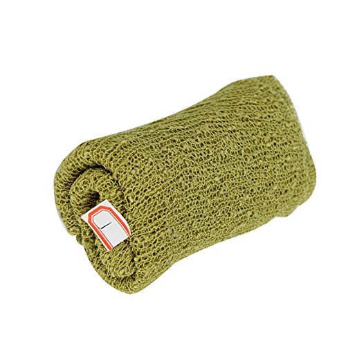 - fantastic_008 Newborn Baby Photography Photo Prop Stretch Wrap - 20 Colors (Olive)