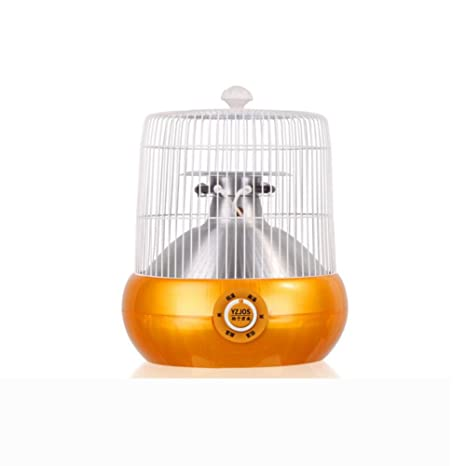 CJC Calentador Eléctrico Tubo Halógeno Calefacción Jaula De Pájaros Modelado Estufa Al Horno (Color :