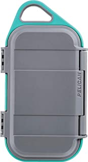 product image for Pelican Go G40 Case - Waterproof Case (Slate/Teal) (GOG400-0000-GRY)