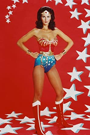 LYNDA CARTER Hollywood Celebrity Poster TV Movie Poster 24 in by 36 in 3