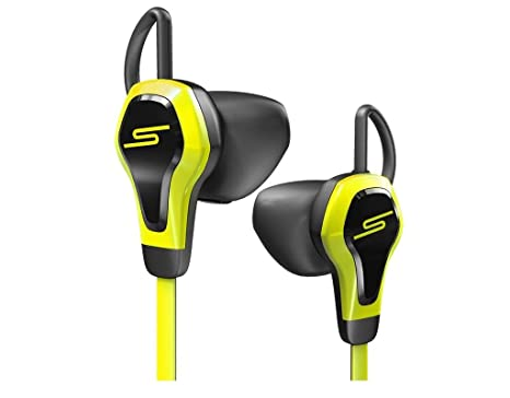 SMS Audio Bio Sport Biometric Wired in-Ear Headphones with Heart Rate  Monitor, Yellow