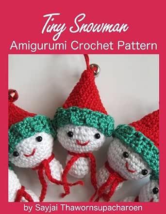 Crochet snowman decoration | 442x342