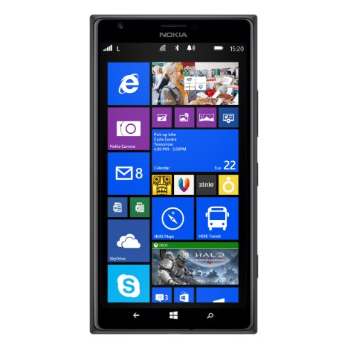 1799906c611dcd Nokia Lumia 1520 Windows Phone 8 32GB 4G LTE Mobile  Amazon.co.uk   Electronics