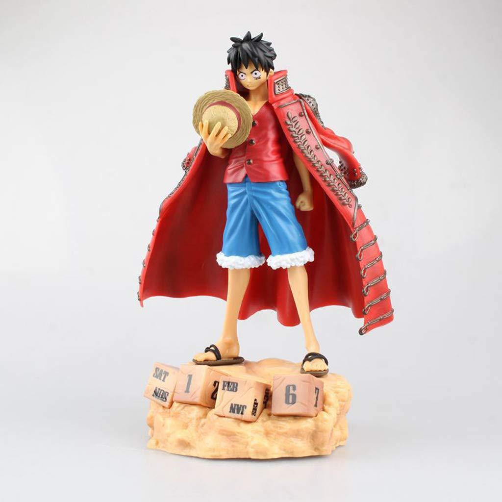 orden en línea rojo WSWJJXB Piratas Rey náutico Lufei Modelos Modelos Modelos de Anime Hechos a Mano Souvenirs colección artesanía (Color   rojo)  minorista de fitness