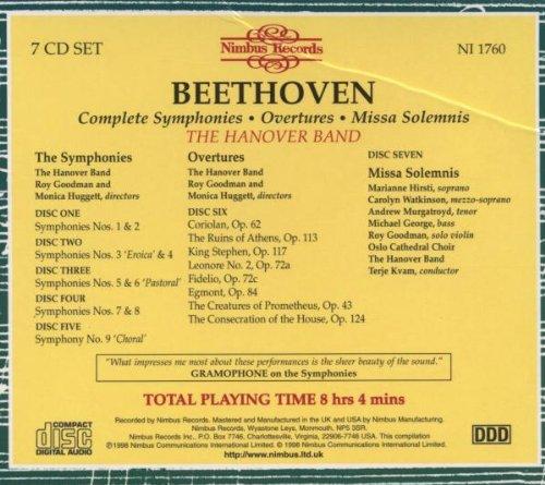 Symphonies / Missa Solemnis / Overtures by Nimbus Records