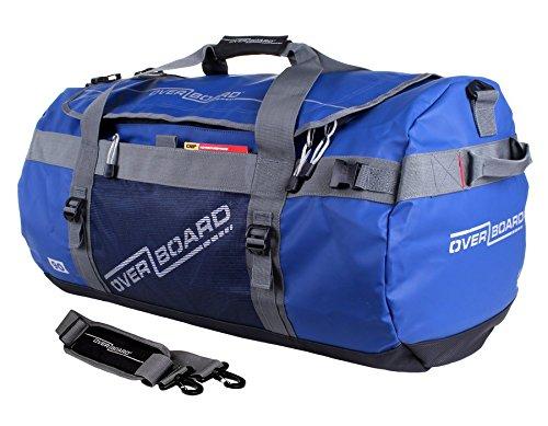 OverBoard Adventure Duffel Bag, Blue, 90-Liter