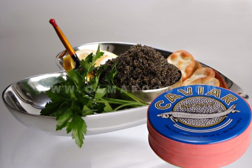 - OLMA Black Caviar Paddlefish 8.8 oz (250g) Metal Tin