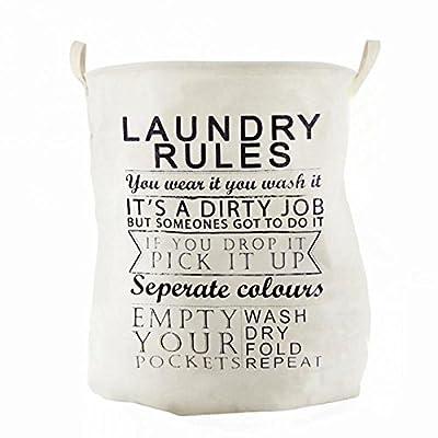 Lqchl Laver Les Vêtements Blanchisserie Sac Panier Panier De Rangement Bac Panier Pliable Imperméable , Vêtements Sales Panier,B