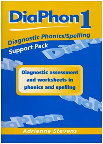 Diaphon Diagnostic Phonics/Spelling Support Pack 1: Support Pack 1 ...
