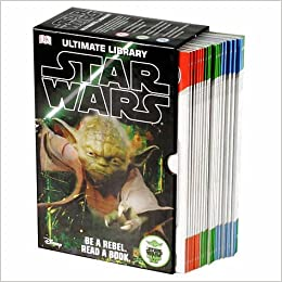 Star Wars: Ultimate Library Box Set with 20 Volumes for Early