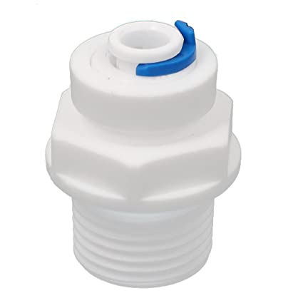 Sourcingmap – ® 1/2 BSP rosca 6.5 mm Diámetro interior plástico dispensador de agua