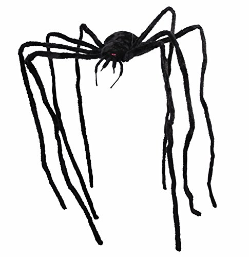 Forum Novelties Giant Spider 9ft Prop, As As Shown -