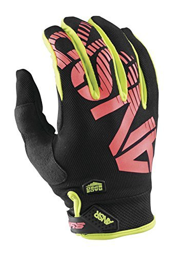 Answer A16 Syncron Gloves, Distinct Name: ACI/Black/Red, Gender: Mens/Unisex, Primary Color: Black, Size: 2XL, - Glove Syncron Red