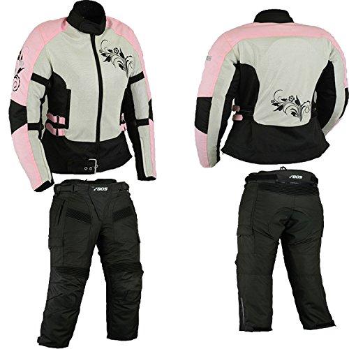 Motorradkombi damen, Motorrad kombi rosa, 44