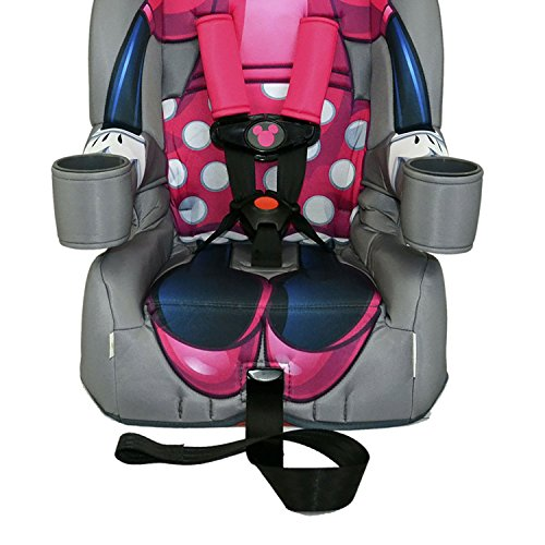 Kids Embrace Disney Minnie Mouse Combination Harness Booster Toddler Car Seat (2 Pack)