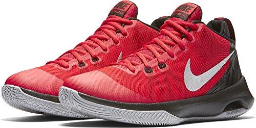 Nike Mens Air Versitile, University Red / Metallic Silver, 8 M Us