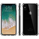 Drop Protection Clear Transparent Case For Iphone Xs Max Anti-Knock Phone Cover
