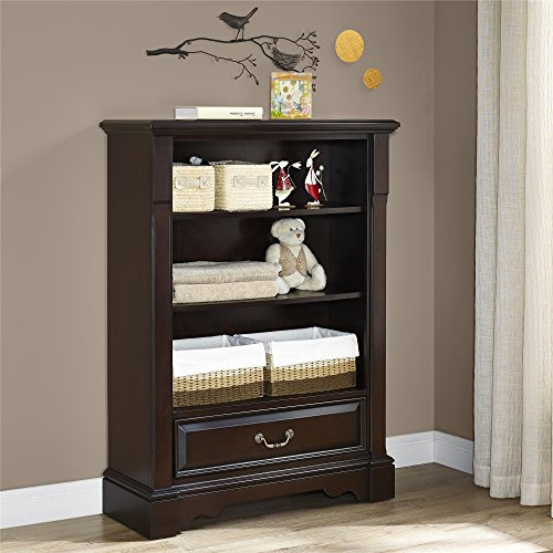 Baby Knightly Mirabel Bookcase, Espresso by Baby Knightly