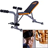 MB SportAdjustable Weight Bench Exercise Lifting Abs Workout Incline Flat Decline Press