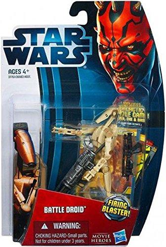 Star Wars 2012 Saga Movie Legends Action Figure Battle Droid