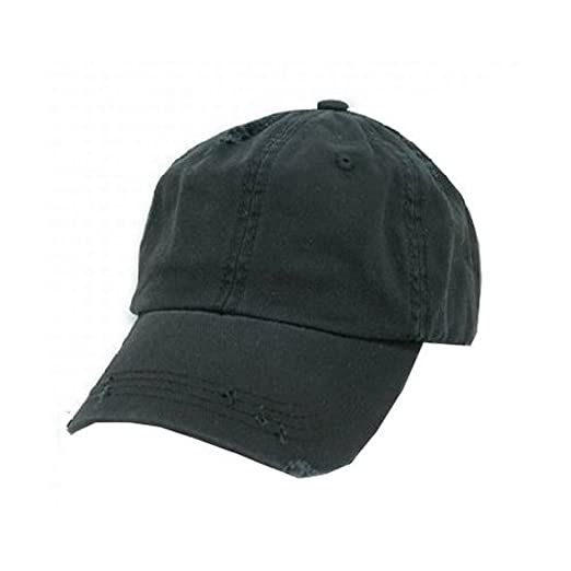 Amazon.com  Decky Vintage Polo Cap- Black Adjustable  Sports   Outdoors 75dcc5beef6
