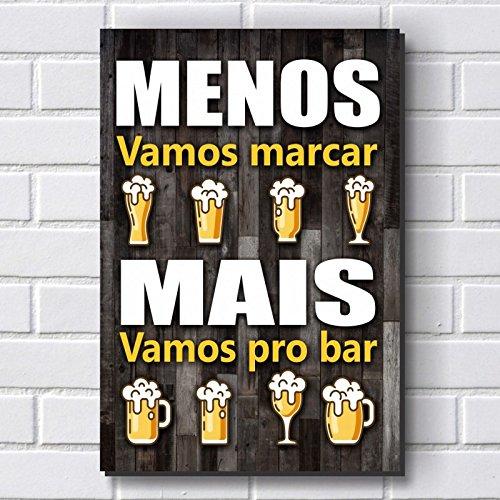 Placa Decorativa - Frases de Boteco - Cerveja P648