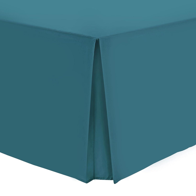 100/% Egyptian Cotton Fitted Flat Frilled Valance Sheet Base Valance Blush