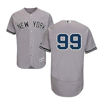 best sneakers 927bd 6d040 VFs Men's New York Yankees Aaron Judge #99 Flex Base Player Grey Home Jersey