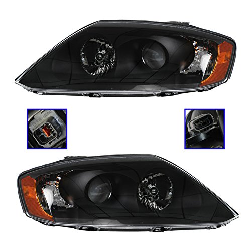 Headlight Head Lamp LH Left Driver RH Right Passenger PAIR for Hyundai Tiburon ()