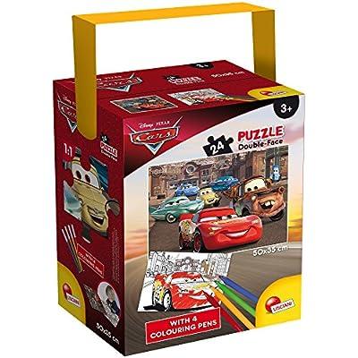Lisciani Giochi Cars 3 Puzzle In A Tub Mini 24 Pezzi 35 X 50 Cm 652570