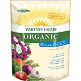 Whitney Farms 109101 Organic and Natural All Purpose Plant Food, 4-2-3, 4-Pound, Appliances for Home