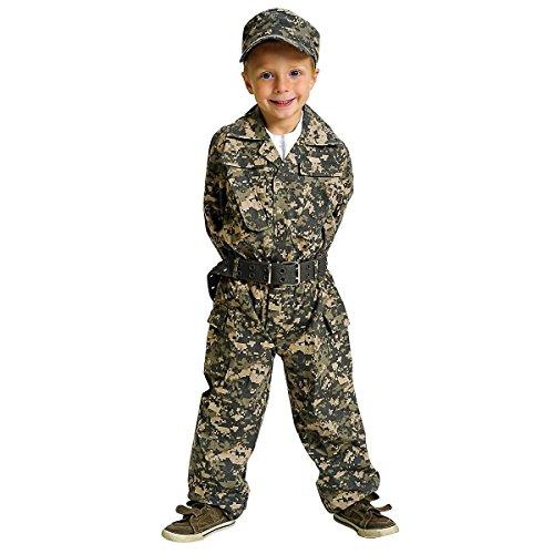 Jr. Camo Gear Costume - Medium - Jr Cowgirl Costumes