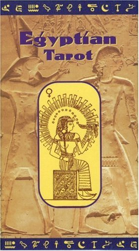 Egyptian Tarot Kit Deck Book Loscar: Egyptian Tarot Deck