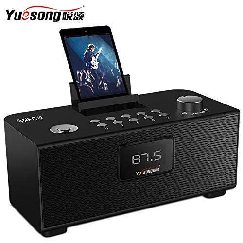 xingganglengyin Wireless Bluetooth Speaker Desktop Card Computer Phone Outside Audio Car Subwoofer Alarm Clock by xingganglengyin (Image #5)