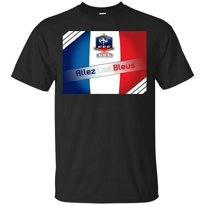 Amazon.com: France World Champions Allez Les Bleus T-Shirt ...