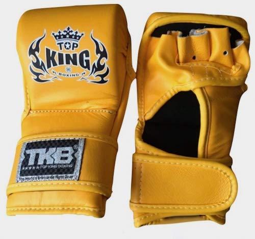 MMABLAST TOP キンググラップリンググローブ 「コンバット」 TKGGC-555 イエロー Small  B07HLYKGY2