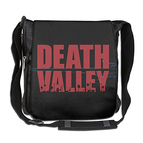 AIJFW Death Valley Letter Fashion Multifunctional Crossbody Bags Messenger Bags For Men's & Women's Everyday