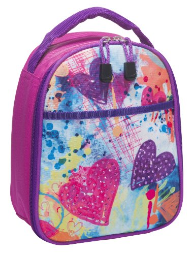 3C4G Sparkling Hearts Lunch Cooler product image