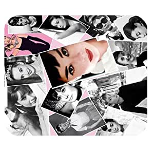 Custom AUdrey Hepburn Personalized Rectangle Mousepad SBY-429