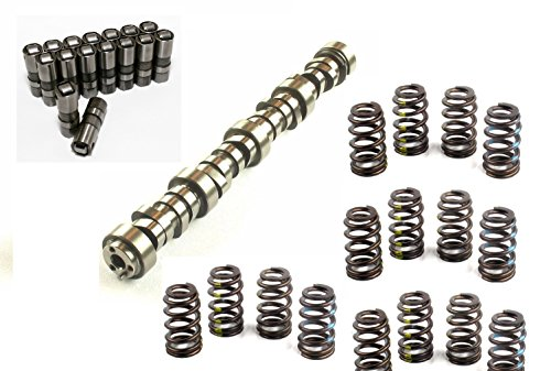 ELGIN INDUSTRIES PERFORMANCE SLOPPY Hydraulic Roller Camshaft & Lifters with Springs compatible with 2000-2007 4.8 5.3 5.7 6.0 6.2 Chevy LS1 LS2 LS6 .575″ LIFT E1839P