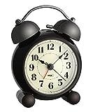 La Crosse Technology 60.1014 Twin Bell Electronic Analog Alarm Clock