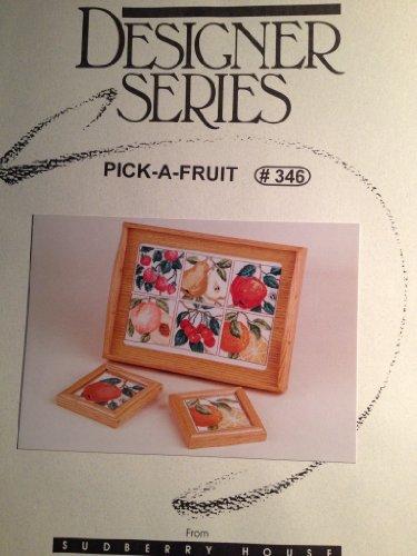 Designer Series ~ Cross Stitch Patterns ~ Pick a Fruit -