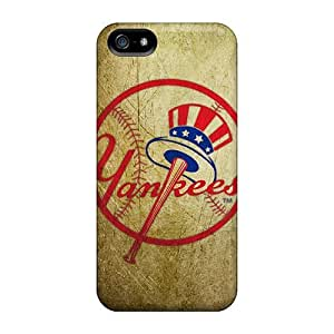 Best Hard Cell-phone Cases For iphone 4s (Hcd5582JeXP) Unique Design Fashion New York Yankees Pattern