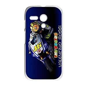 Motorola G Phone Case for Valentino Rossi pattern design GQ35VRS7841