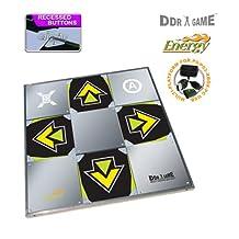 DDRgame Playstation 2 - USB Energy Metal Arcade 3 in 1 Dance Pad
