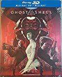 Ghost In The Shell [3D+Blu-ray] [Steelbook] English, French, German, Japanese, Spanish (Castilian), Italian, Chinese (Mandarin), Polish, Russian, Thai, Turkish, Czech