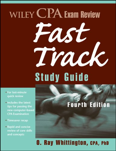 - Wiley CPA Exam Review Fast Track Study Guide